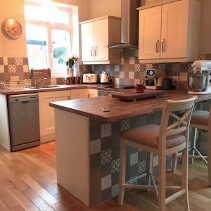 Kitchen/diner backsplash iModelli - casa ceramica